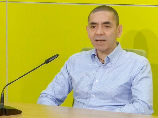 BioNTech CEO and co-founder Ugur Sahin