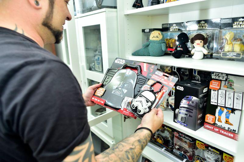 'Star Wars' super fan Will Janssen