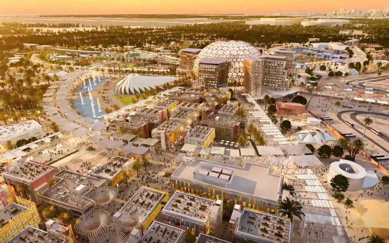 A site of Dubai Expo 2020 GN_191229