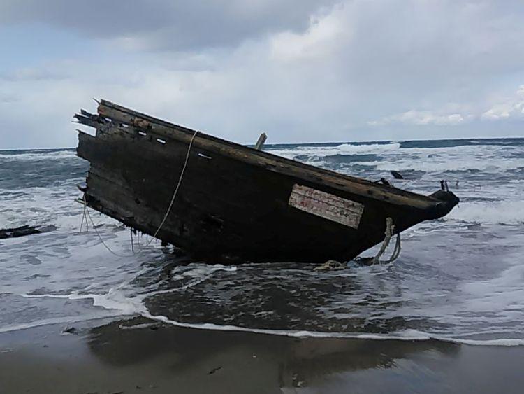 North Korea boat