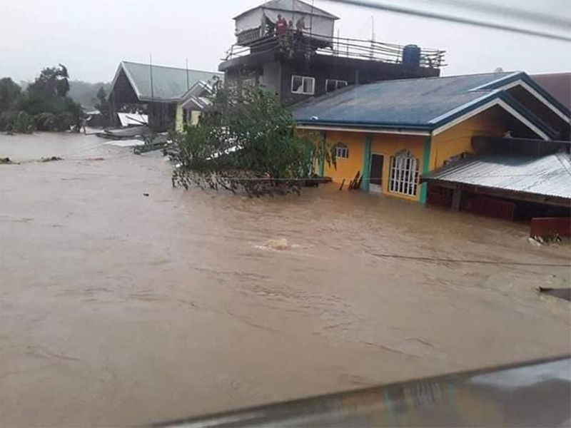Typhoon Phanfone floods