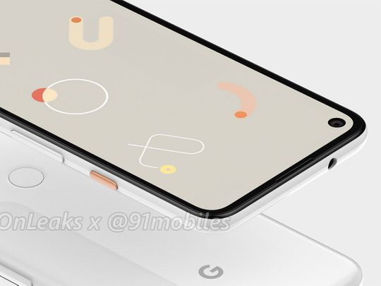 Google's Pixel 4a may have punch-hole display