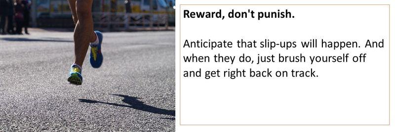Reward dont punish run