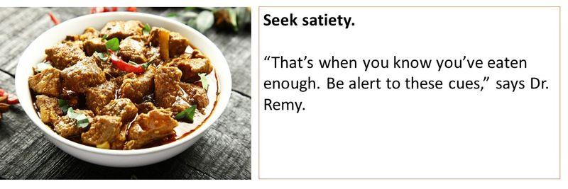 Seek Satiety