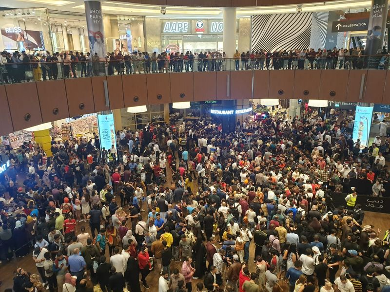 Dubai Mall NYE