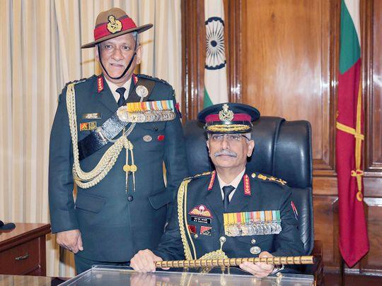 General Manoj Mukund Naravane