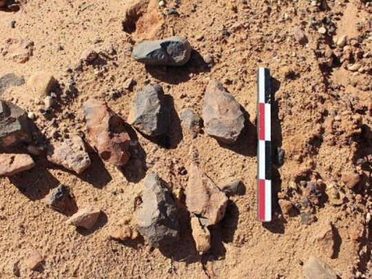 Stone Age unearthed in Saudi Arabia