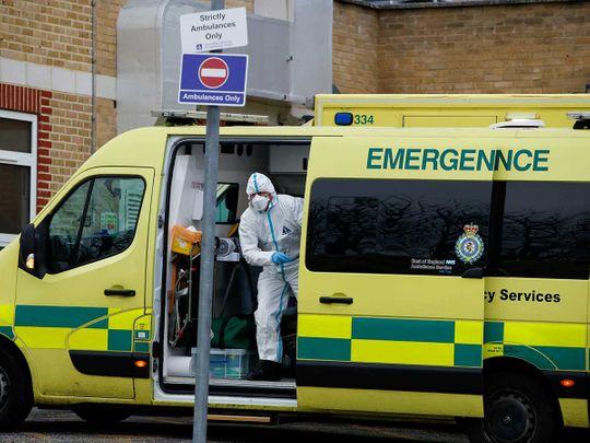 UK ambulance covid