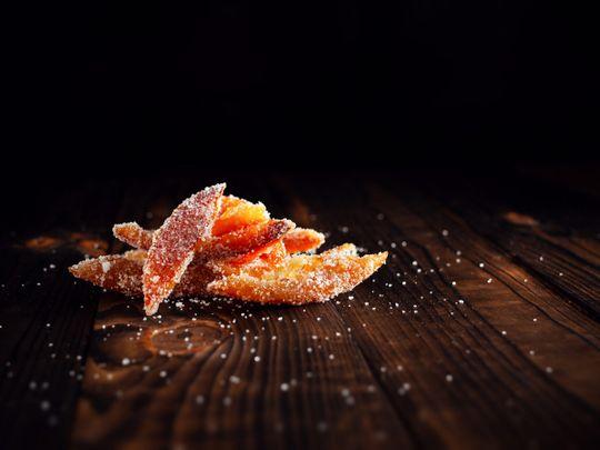 Glazed satsumas