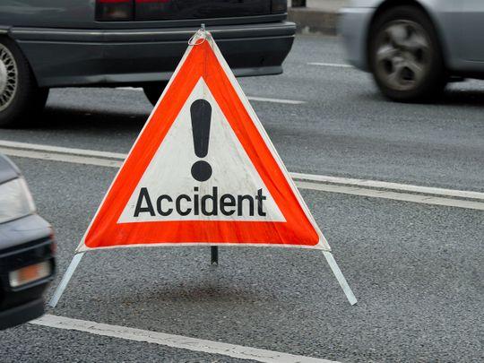Road accident site