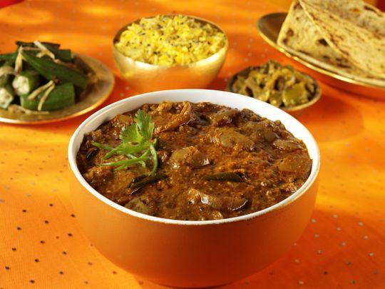 Brinjal Theeyal (Kerala)