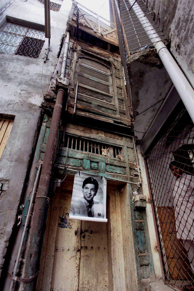 Dilip Kumar's home in Peshawar