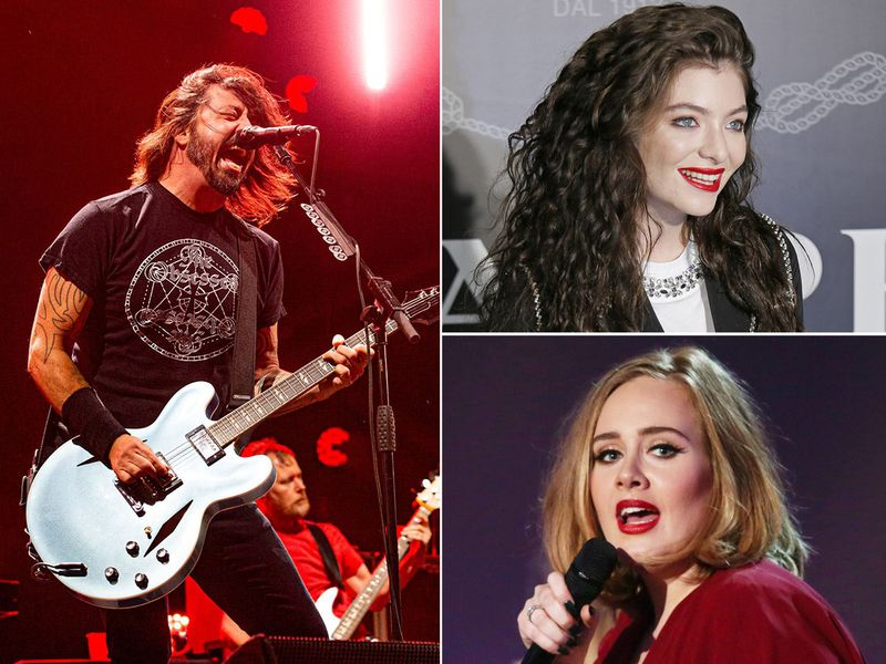 Foo Fighters, Lorde and Adele have albums coming out in 2021
