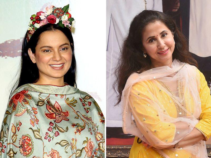 Kangana Ranaut and Urmila Matondkar