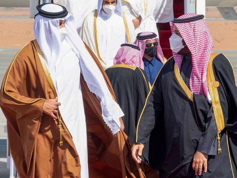 GCC QATAR SAUDI