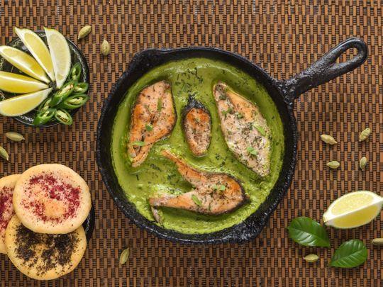 Hari Machhi (Coriander Fish)