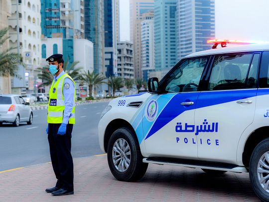 Stock Sharjah Police