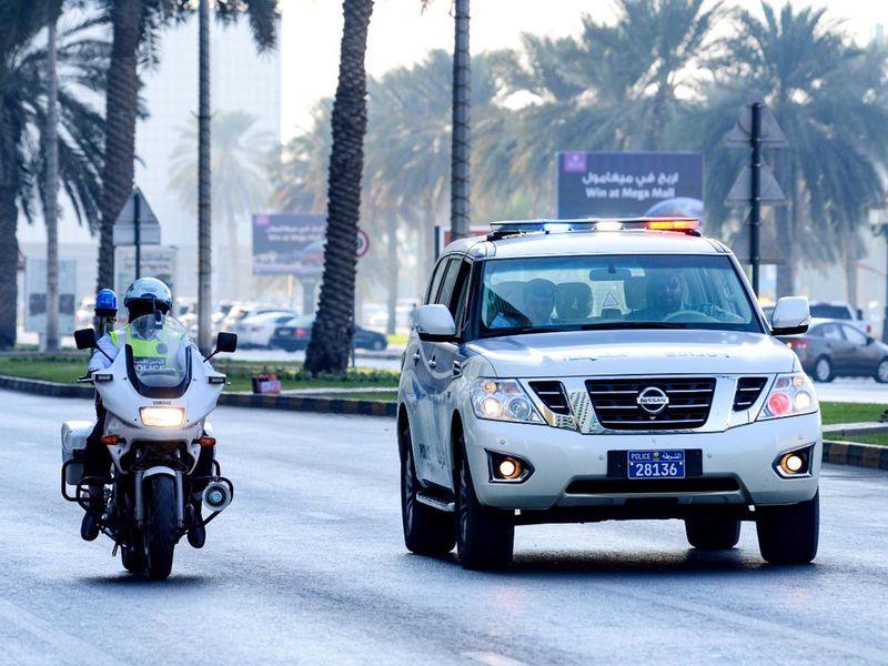 245 police patrols to deploy on Sharjah Roads during Ramadan