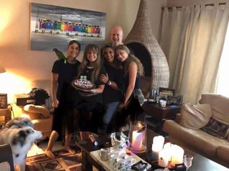 Sherifa Khedr and family