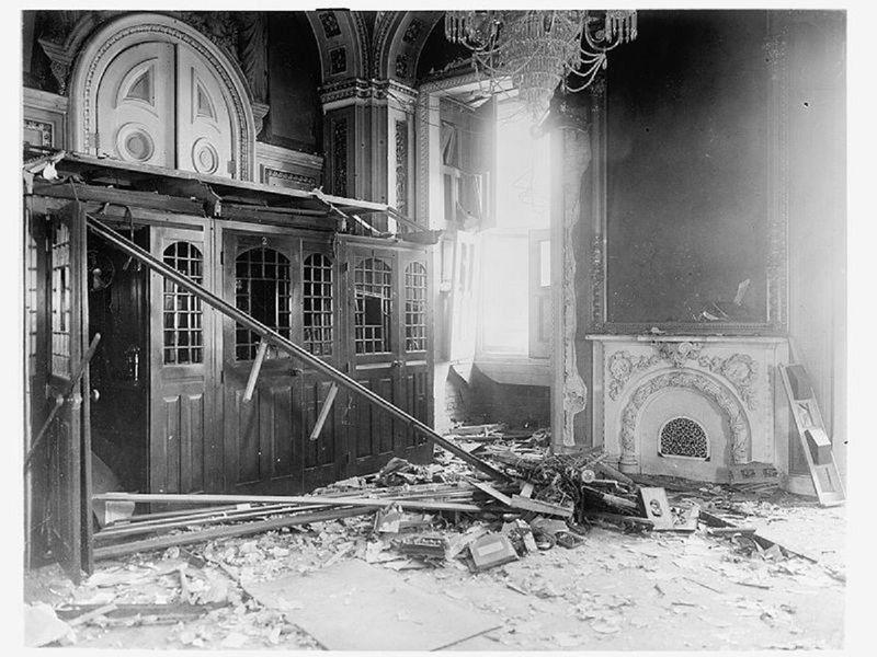 July 2, 1915: Dynamite attack by German professor