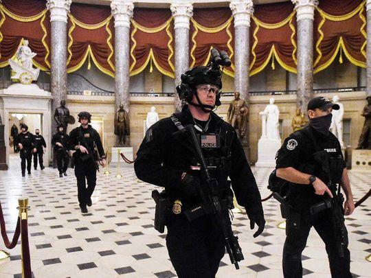 Swat Patrol team Capitol Hill