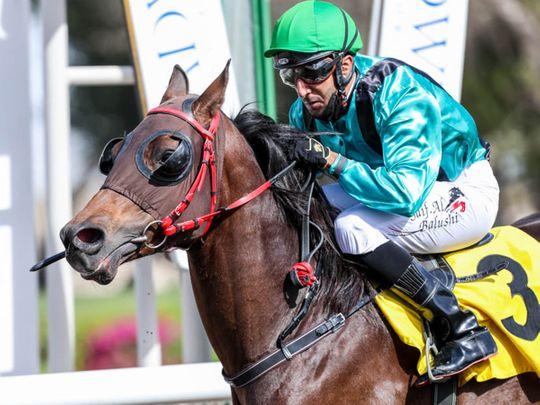 Omani jockey Al Baloushi