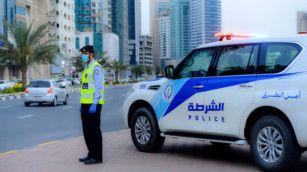 Sharjah Police traffic-1610088875318