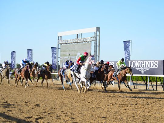 Al Roba'a Al Khali wins the GCC Cup at Sharjah