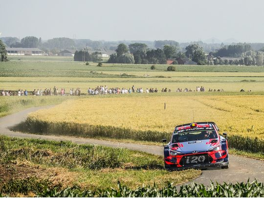 Belgium's Ypres Rally will take the place of Northern Ireland with a round of the 2021 FIA World Rally Championship in August