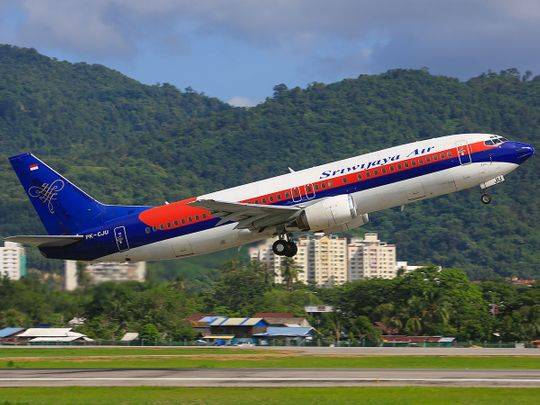 STOCK Sriwijaya Air Boeing 737