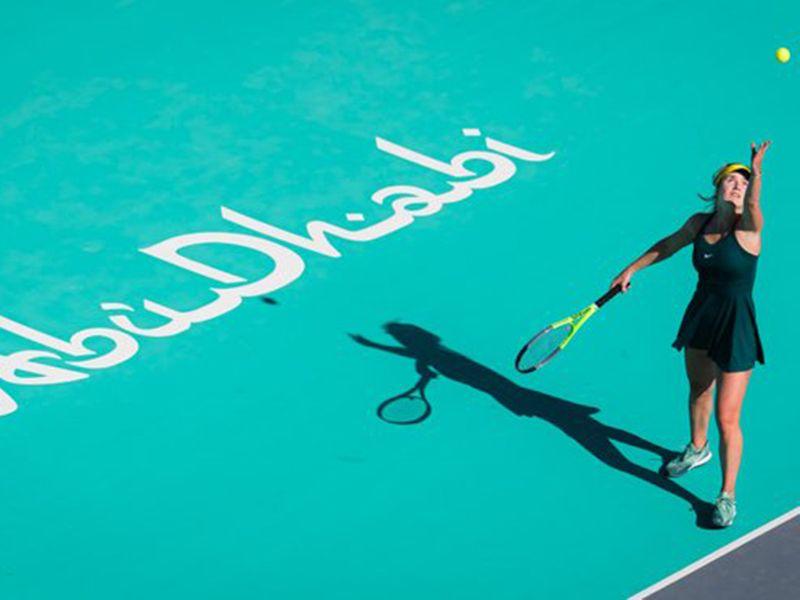 Elina Svitolina at Abu Dhabi WTA Women's Open