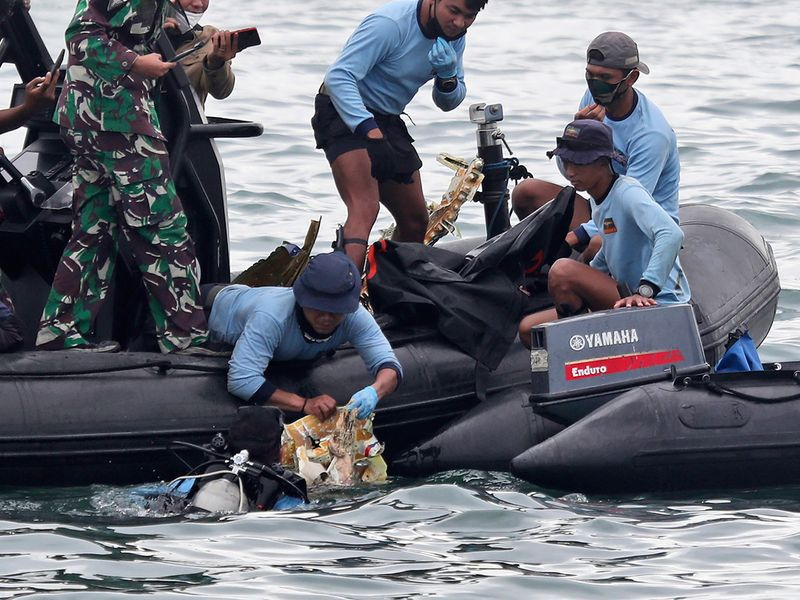 Indonesian Navy divers