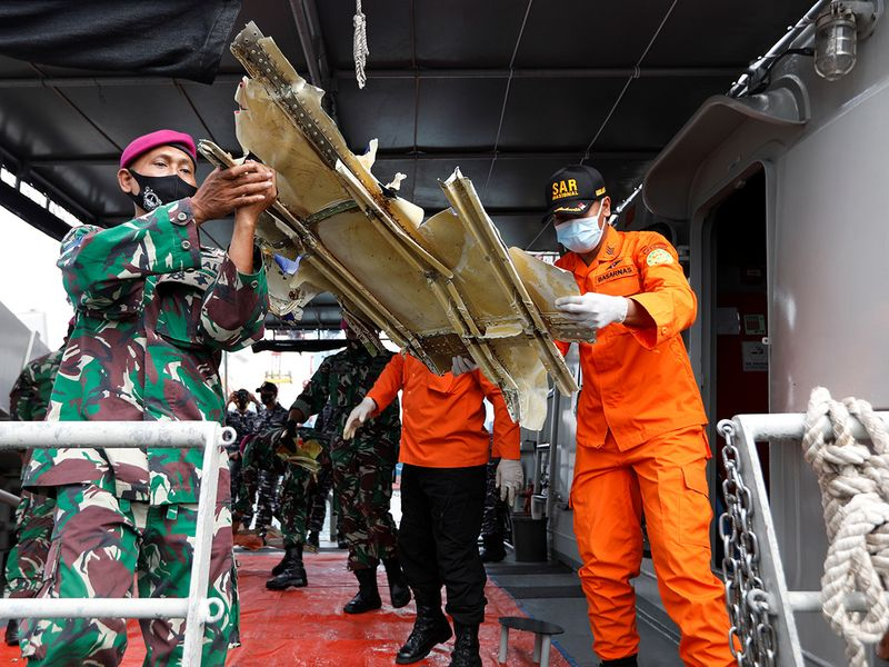 Indonesian Navy personnels