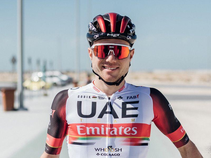 New UAE Team Emirates rifer Marc Hirschi