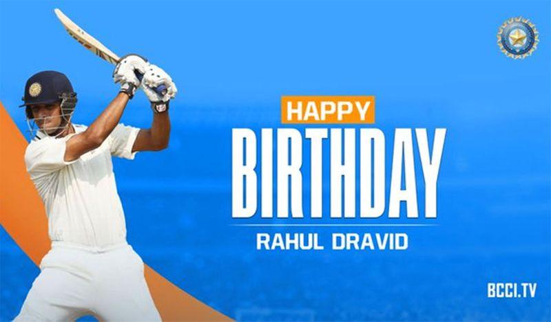 BCCI Rahul Dravid