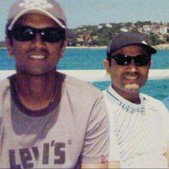 Rahul Dravid and Sehwag