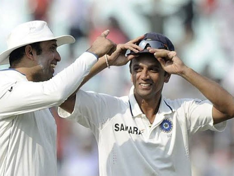 VVS Laxman and Dravid