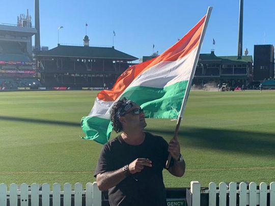 Cricket-Sydney fan