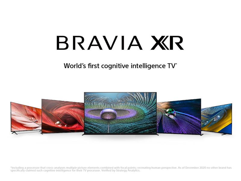 Sony brings news Bravia XR TV line-up with new 'Cognitive Processor XR'