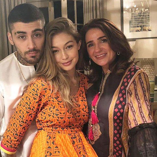 Zayn Malik with Family