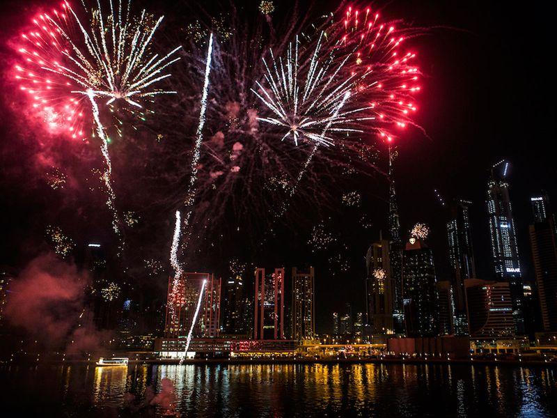 Al Seef fireworks DSF