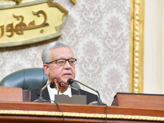 New head of Egyptian legislature Hani Al Jebeili
