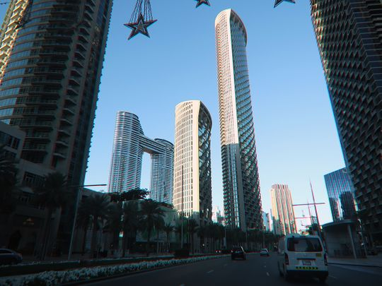 Stock Downtown Dubai