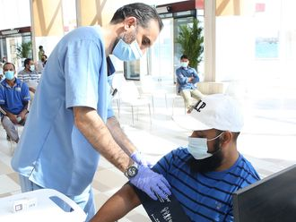 Stock UAE vaccine SEHA