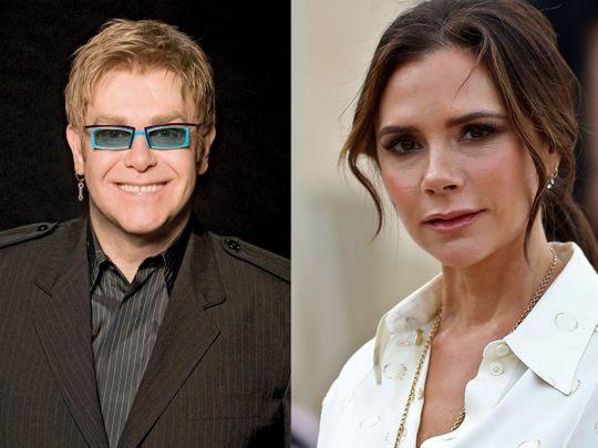 TAB 200113 Elton John and Victoria Beckham-1610524255326