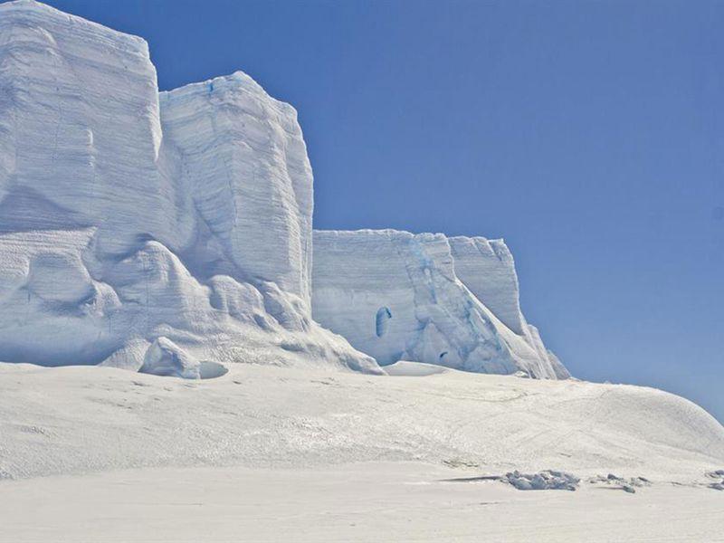Vostok Station, Antarctica.