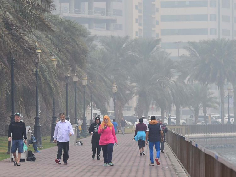 Winter in the UAE