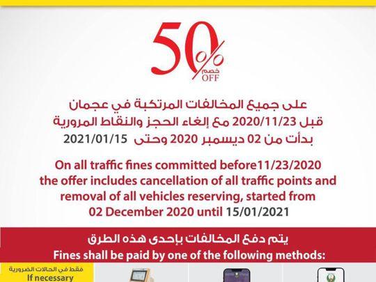 Ajman traffic fine-1610615987979