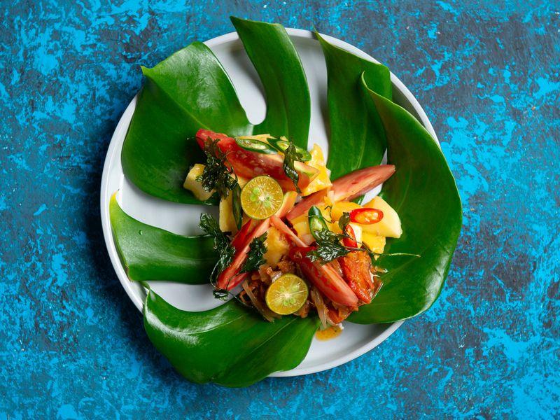 Ensaladang Mangga (Mango salad)
