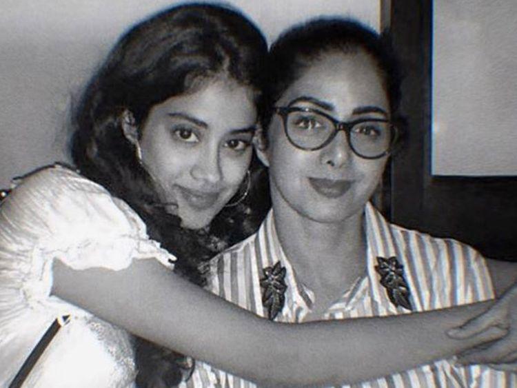 Jhanvi Kapoor with SriDevi